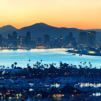 Sunset over San Diego California Link to registration and more info